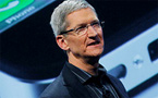 Tim Cook named Apple CEO