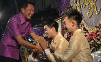 Mayor blesses marriage of Thai gay couple, praises their good example