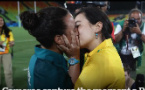 Watch: First Olympic marriage proposal