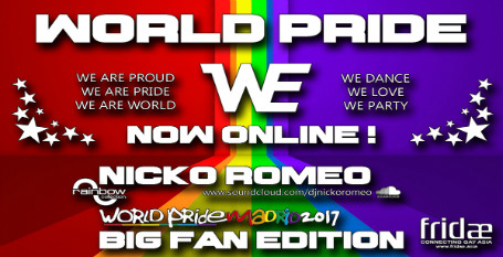 Listen: A new podcast from our friend DJ Nicko for World Pride 2017