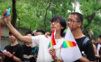 WATCH: Mainland Chinese Attend Pride in Taipei
