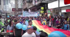 Watch: Thousands march for Hong Kong pride