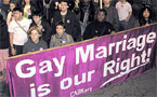 California: Allow gay marriage or no marriage at all?