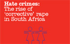 Lesbians in South Africa face rising threat of ''corrective rape''