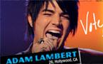 'Gay' American Idol contestant Adam Lambert gets standing ovation from Simon Cowell