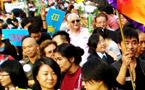 現場對話:香港第一屆同志大遊行