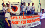 The first gay pride march in Asia