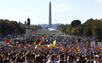 National Equality March in Washington, DC attracts 200,000