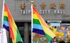 台北市政府丶市议会带头歧视又违法 遭到同志及人权团体抗议