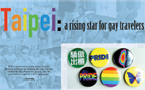 Taipei: A rising star for gay travelers