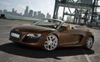 Look at me! Audi R8 V10 Spyder