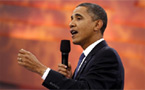 Obama says being gay not a choice; DADT to stay for now