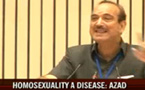 India Health Minister's homosexuality is a 'disease' comment creates uproar