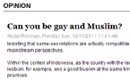 Can you be gay and Muslim?