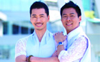 Hong Kong gay couple shares