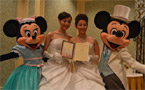 Japanese lesbian couple marry at Tokyo Disney