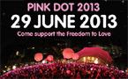 Singapore: Pink Dot 2013 to be held Jun 29