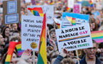 France approves same-sex marriage and adoption law