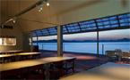 Restaurant on the Sea, Teshima, Japan