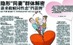 80 percent of women in marriages with gay men say they have been 'seriously harmed': China survey