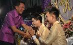 Mayor blesses marriage of Thai gay couple, praises their good example