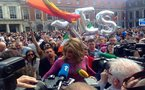 Global celebrations after Ireland votes in favour of gay marriage