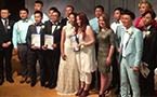 Seven same-sex Chinese couples wed in Hollywood