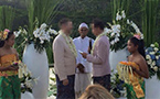 Gay wedding in Bali sparks controversy