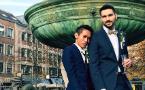 泰国男子与爱人不惧网络暴力在德国注册结婚