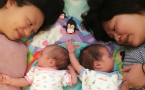 Lesbian couple in Beijing give birth to twins