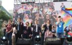 臺灣立法機關又向婚姻平權邁出了一大步
