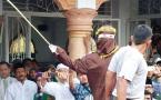 同性情侶在印尼發生性關係將處以鞭刑
