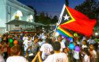看点: 东帝汶庆祝第二届骄傲游行