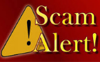 Beware!  There are spammers and scammers around!!