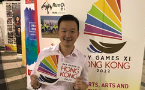 Hong Kong's openly gay lawmaker in historic protests