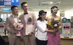 More than 1,000 couples got married in Taiwan's first month of marriage equality
