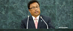 Palau's president supports same-sex marriage